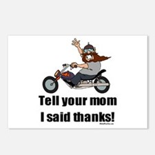 Tell Your Mom Thanks Postcards (Package of 8)
