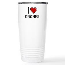 I love Drones Travel Mug