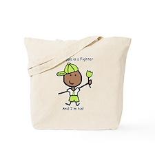 Lime Ribbon - Poppa Tote Bag