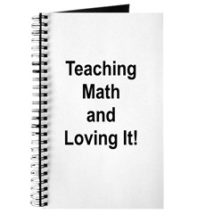 Teaching Math And Loving It! Journal