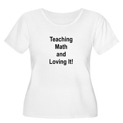 Teaching Math And Loving It! Women's Plus Size Sco