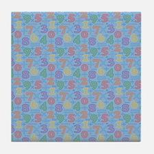 Number Fun Tile Coaster
