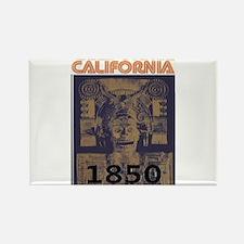 California History Rectangle Magnet