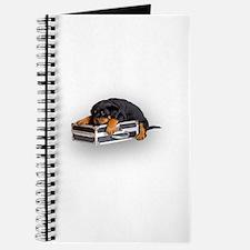 Puppy Suitcase Journal