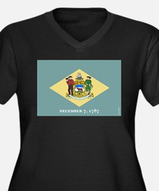 Delaware State Flag Plus Size T-Shirt