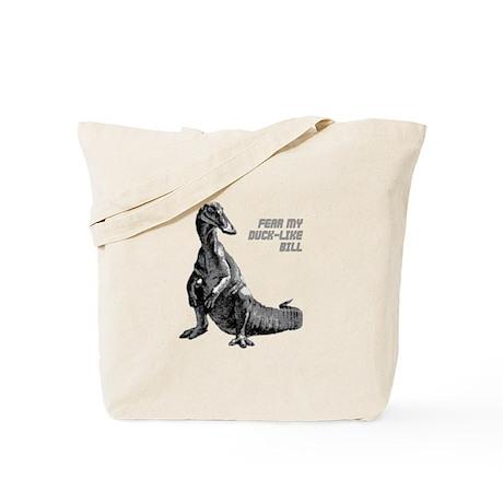 Hadrosaur Tote Bag