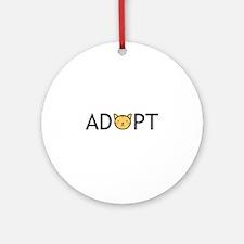 Adopt Ornament (Round)