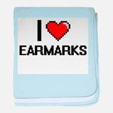 I love EARMARKS baby blanket