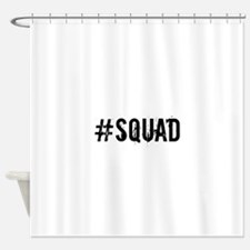 Squad Shower Curtain