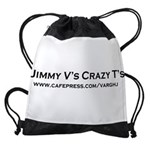 2-Jimmy V's Crazy T's.PNG Drawstring Bag