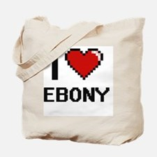 Cute Ebony Tote Bag
