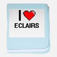 I love ECLAIRS baby blanket