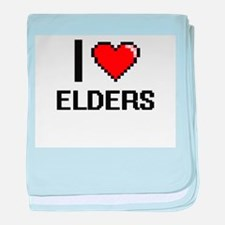 I love ELDERS baby blanket