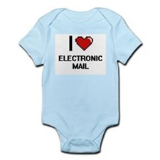 I love ELECTRONIC MAIL Body Suit
