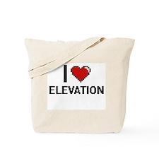 I love ELEVATION Tote Bag