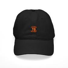 70 Birthday Designs Baseball Hat