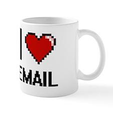 Funny I love email Mug