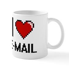 Cute I love email Mug