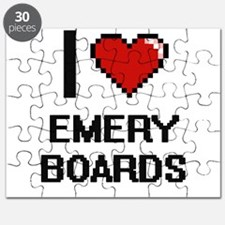 I love EMERY BOARDS Puzzle