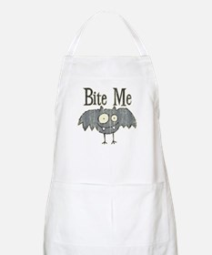 Bite Me Bat Design BBQ Apron