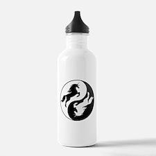 Yin Yang Unicorn Water Bottle