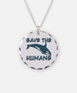 Save the Humans Necklace