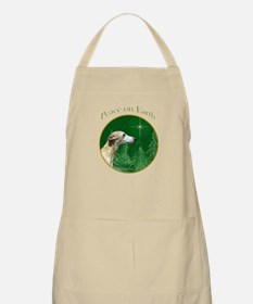 Whippet Peace BBQ Apron