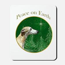 Whippet Peace Mousepad