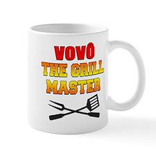 Vovo (Grandpa) The Grill Master Drinkware Mugs