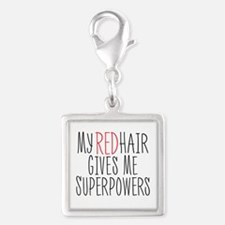 My Red Hair Gives Me SuperPowers Charms