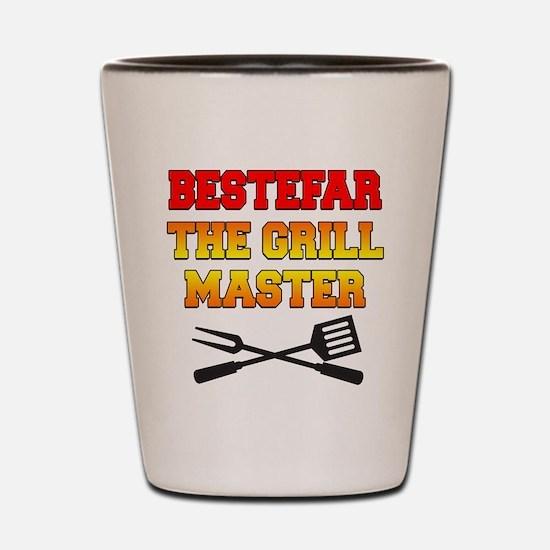 Bestefar The Grill Master Drinkware Shot Glass