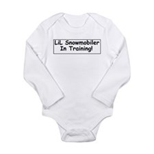 Cute Ski doo Long Sleeve Infant Bodysuit