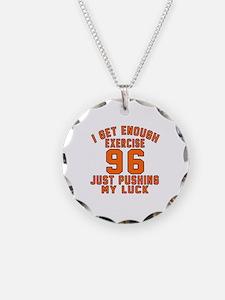 96 Birthday Designs Necklace