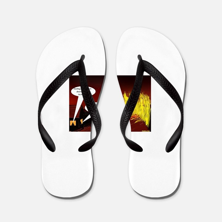 housewarming Flip Flops