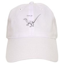 """Clever Girl"" raptor Baseball Cap"