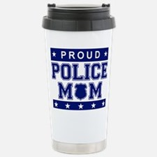 Funny Police wife Travel Mug