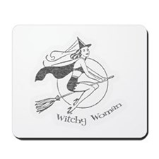 Vintage Witchy Woman Mousepad