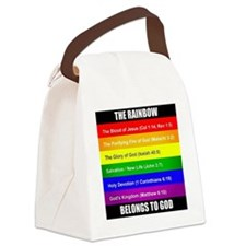 God's Covenant Canvas Lunch Bag