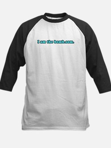 I am the bomb.com. Kids Baseball Jersey