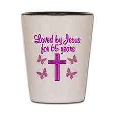 65TH BLESSING Shot Glass