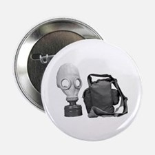 Gas Mask Russia Button