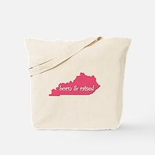 Kentucky Born & Raised Tote Bag