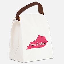 Kentucky Born & Raised Canvas Lunch Bag