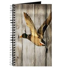 rustic western wood duck Journal