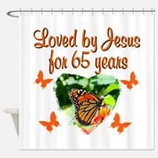 65TH BLESSING Shower Curtain