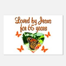 65TH BLESSING Postcards (Package of 8)