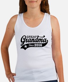 Great Grandma Since 2016 Women's Tank Top