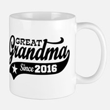 Great Grandma Since 2016 Mug