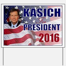 John Kasich for President Yard Sign