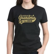 Great Grandma Since 2016 Tee